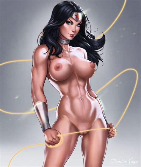 Wonder Woman Nude By Dandon Fuga Nerd Porn