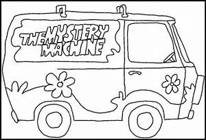 mystery machine stencil scooby doo party pinterest With scooby doo cake template