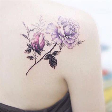 Tatouage Rose Dos  Ces Tatouages De Rose Qui Ne Faneront