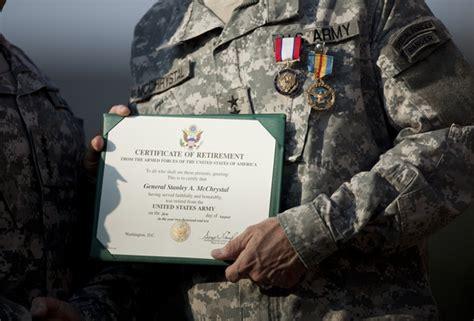 army retirement ceremony stanley mcchrystal in retirement ceremony held for army