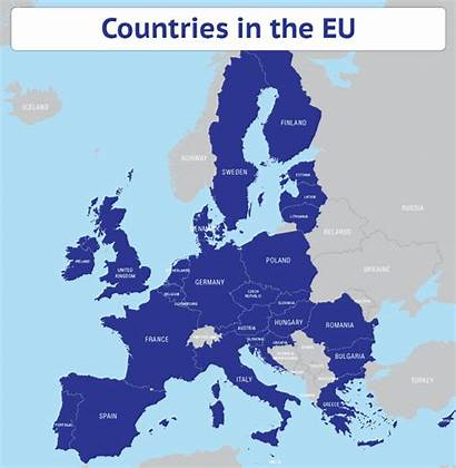 Eu Countries Map Brexit Market Single Animated