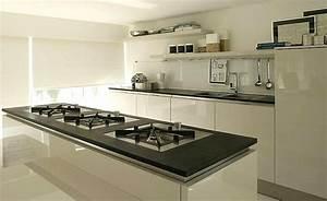 Plan De Travail Ardoise : cuisine plan de travail en lot de cuisine moderne fonc en ardoise ~ Preciouscoupons.com Idées de Décoration