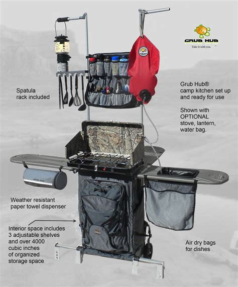 compact portable outdoor kitchen  change rv cooking
