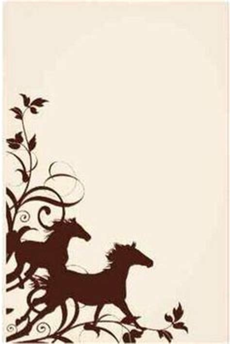 borders equine stationary images stationary
