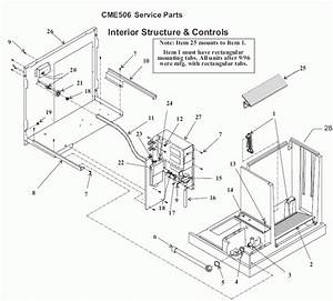 Scotsman Cme506r Contour Cube Ice Machine
