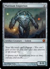 platinum emperion scars of mirrodin gatherer magic
