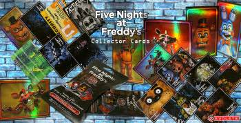 You can find out the balance of the freddys gift card in the store. Five Nights at Freddy's Trading Cards - Evolete   Worldwide Distributor of Fun, Innovative ...