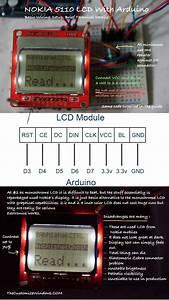Nokia 5110 Arduino Wiring  Technical Details   Basic