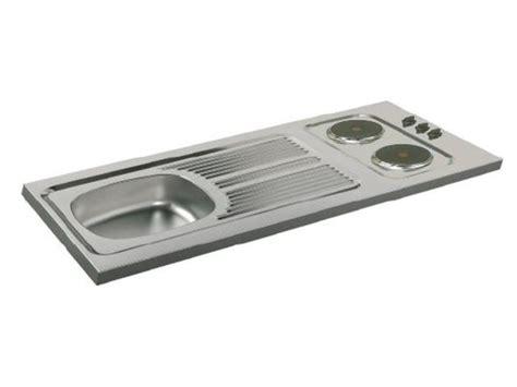 re electrique pour cuisine evier cuisinette à poser avec plaque de cuisson intégrée