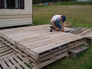 Terrasse Avec Palette : mob au pays du reblochon inauguration de la terrasse ~ Melissatoandfro.com Idées de Décoration