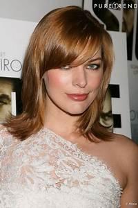 Frange Cheveux Mi Long : coupe de cheveux mi long avec frange d grad ~ Melissatoandfro.com Idées de Décoration