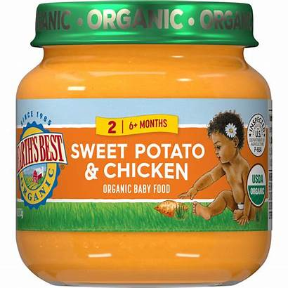Chicken Sweet Potato Earth Stage Jarred