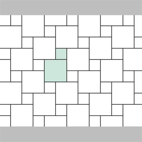 tile laying patterns designs laying pattern iii 12x12 80 3 06x06 19 7 tile backsplashes and range hoods pinterest
