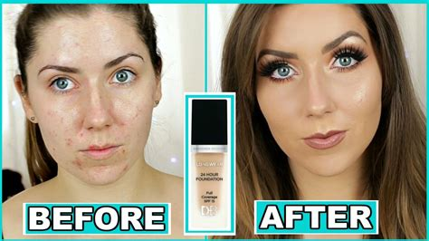 Designer Brands 24 Hour Longwear Foundation Review 😱 For