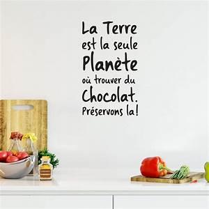 Ou Trouver De La Terre Végétale : sticker citation la terre est la seule plan te o trouver ~ Premium-room.com Idées de Décoration