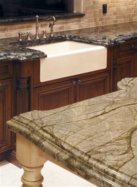 ogee edge profile traditional kitchen
