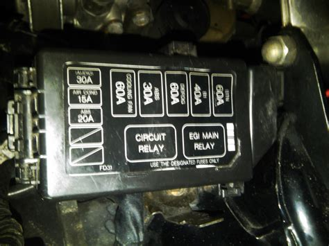Fc Rx7 Fuse Box by 93 95 Engine Relay Box Rx7club