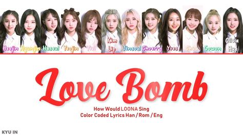 loona sing love bomb  fromis youtube