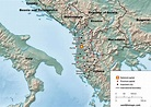 Albania in map and data - World in maps