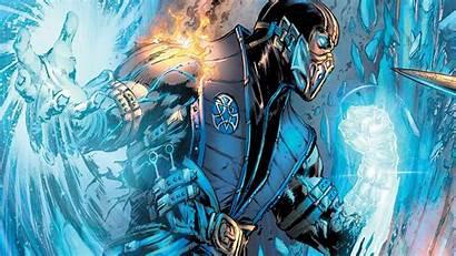 Mortal Kombat Comics Dc Comic Subzero Hood