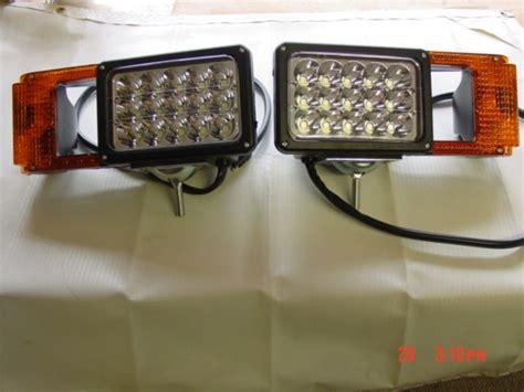 led snow plow lights led upgrade snow plow light set msc03747 arrow 780