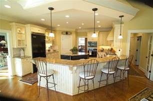 open kitchen islands large open kitchen with eat at bar and island traditional kitchen other metro by houck
