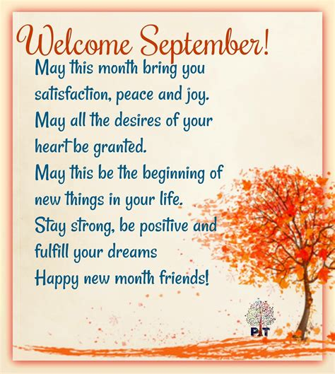 september quotes sayings