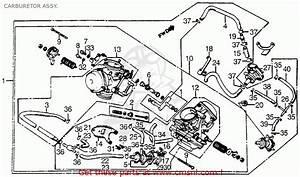 Honda Vt1100c Shadow 1100 1986 Usa Carburetor Assy