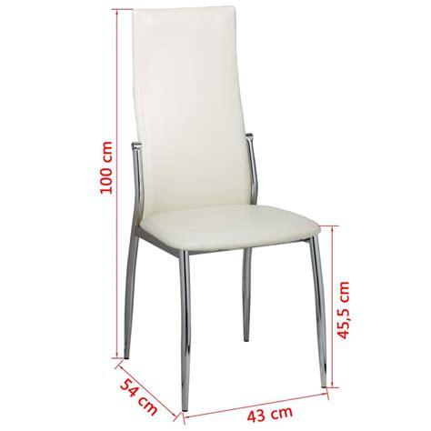 sedie moderne bianche articoli per sedie moderne cucina e pranzo 6 pelle metallo