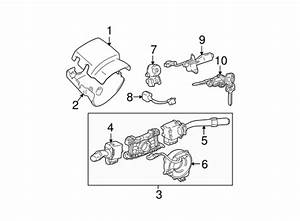 shroud switches levers for 1998 toyota tacoma With partscomr volvo steering column shroud switches and levers cyl and