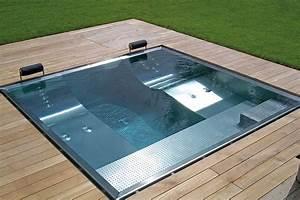 exklusive whirlpools aus edelstahl fur terrasse und With whirlpool garten mit beton balkon abdichten