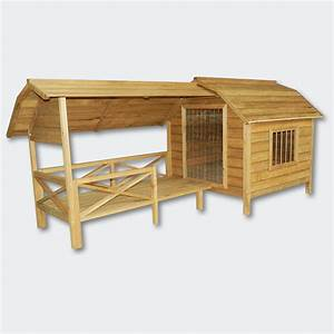 xxl outdoor dog kennel dog house with veranda massive wood With xxl dog house