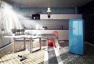 Amerikanischer Kühlschrank Retro Design : stilfrage design k hlschrank retro oder edelstahl ~ Sanjose-hotels-ca.com Haus und Dekorationen