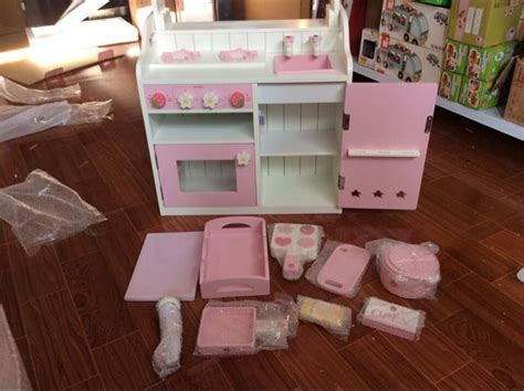 Baby Toys Wooden Kitchen Toys Set Girl's Pink Toddler Sims 2 Living Room Furniture Decorating Ideas Curtains In Candice Olson Fireplace England One Cushion Sofa 4905 Amazon Uk Interior Design Livingroom Modern Chandeliers Warm Neutral Colors For