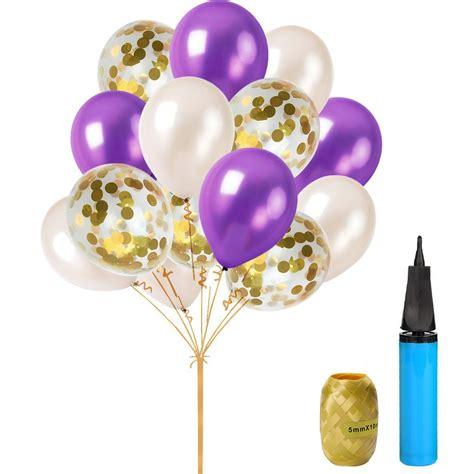 com happy birthday party decoration kit purple happy birthday banner with purple tissue