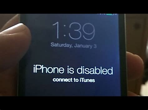what to do if iphone is disabled iphone 4 passcode bypass without losing data how to remove