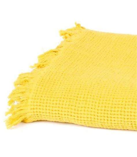 plaid jaune valoo fr