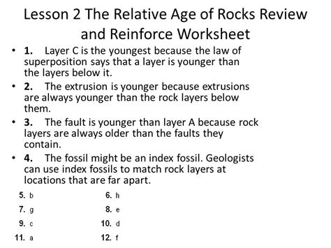 earth s surface chapter 4 a trip through geologic time