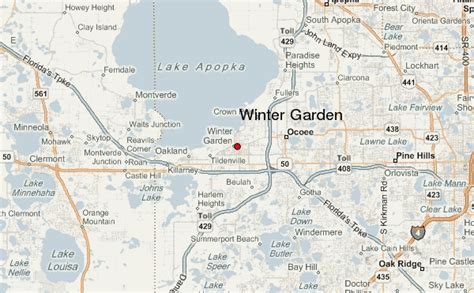 winter garden location guide