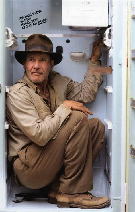 the internet had fun with a photo of harrison ford crammed