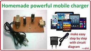 How To Make Mobile Charger At Home