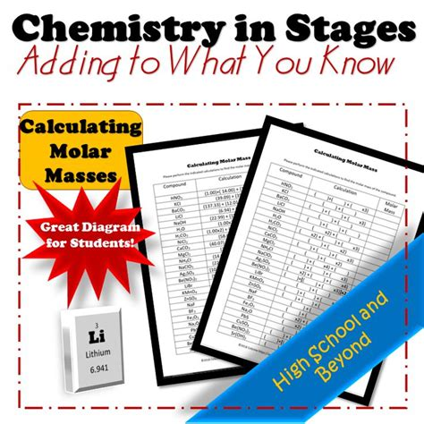 49 best chemistry worksheets images on school