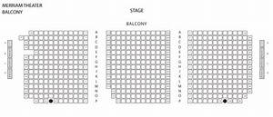Merriam Theater Seating Charts Kimmel Center Campus