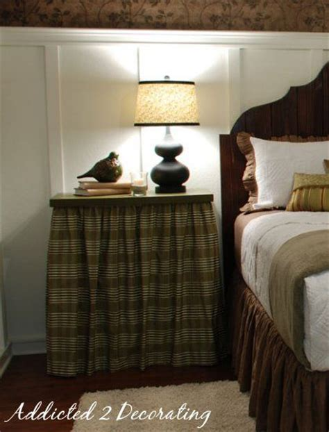 Bedroom Table Skirts by Bedside Tables Tables And Table Skirts On