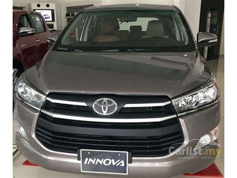 Toyota Innova 2017 E 2.0 In Sabah Manual Mpv Others For Rm