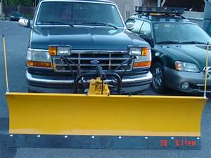 Plow   2608 Installed On 1995 F150 From Md
