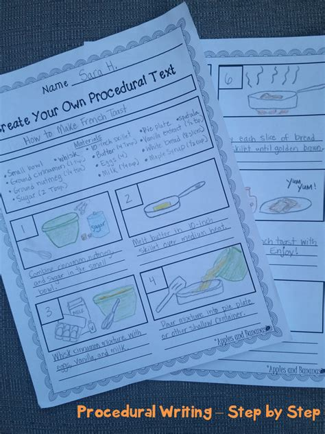 procedural writing procedural writing writer s workshop quot how to quot unit procedural writing rubrics and texts