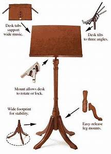 make your own wooden music stand – furnitureplans