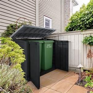 Coffre De Jardin En Resine : coffre de jardin multifonctions en r sine 1200l toit plat keter ~ Teatrodelosmanantiales.com Idées de Décoration