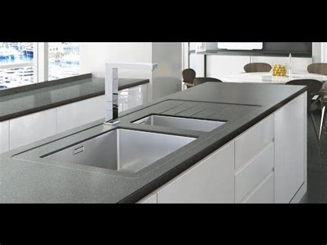Smart Choice For The Kitchen With Minerva Worktops  Youtube
